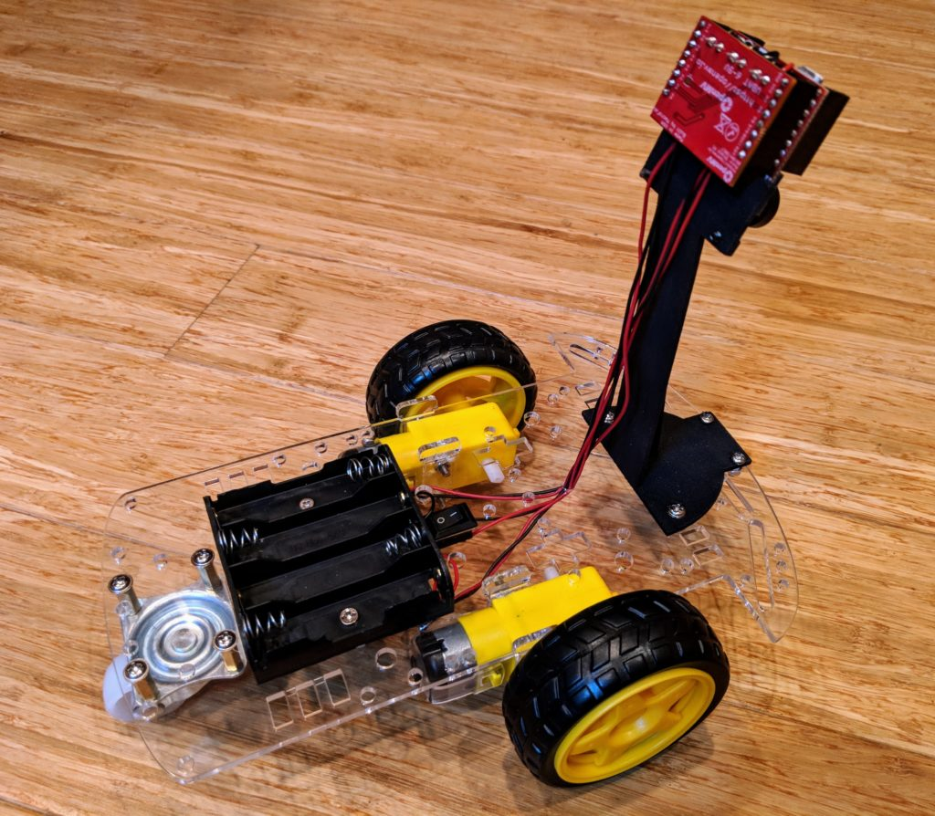 "A ""Minimum Viable Racer"" for OpenMV"