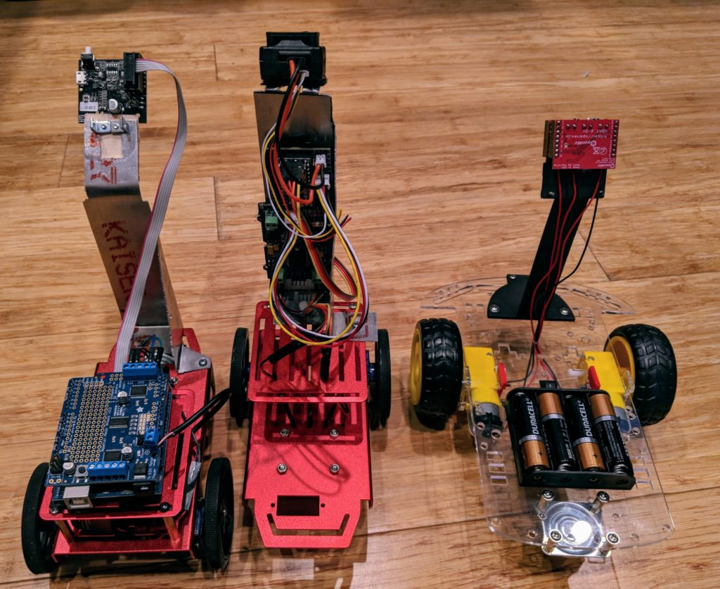 Comparing three low-cost integrated computer vision boards for